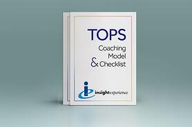 TOPS coaching model and checklist cover